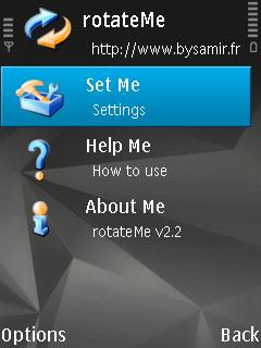 application rotateme n95
