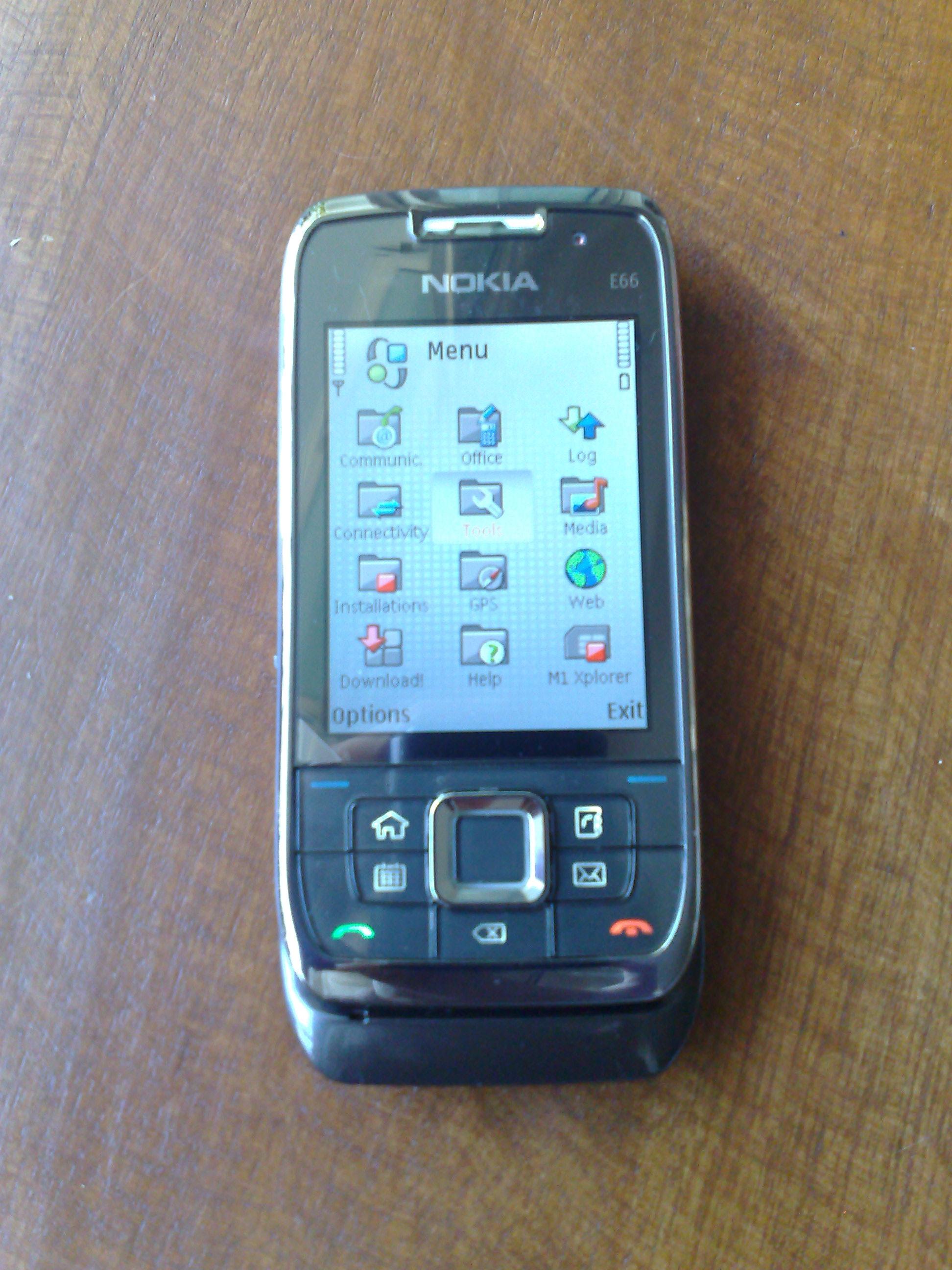 Nokia E66 Mini-Review – Zit Seng's Blog