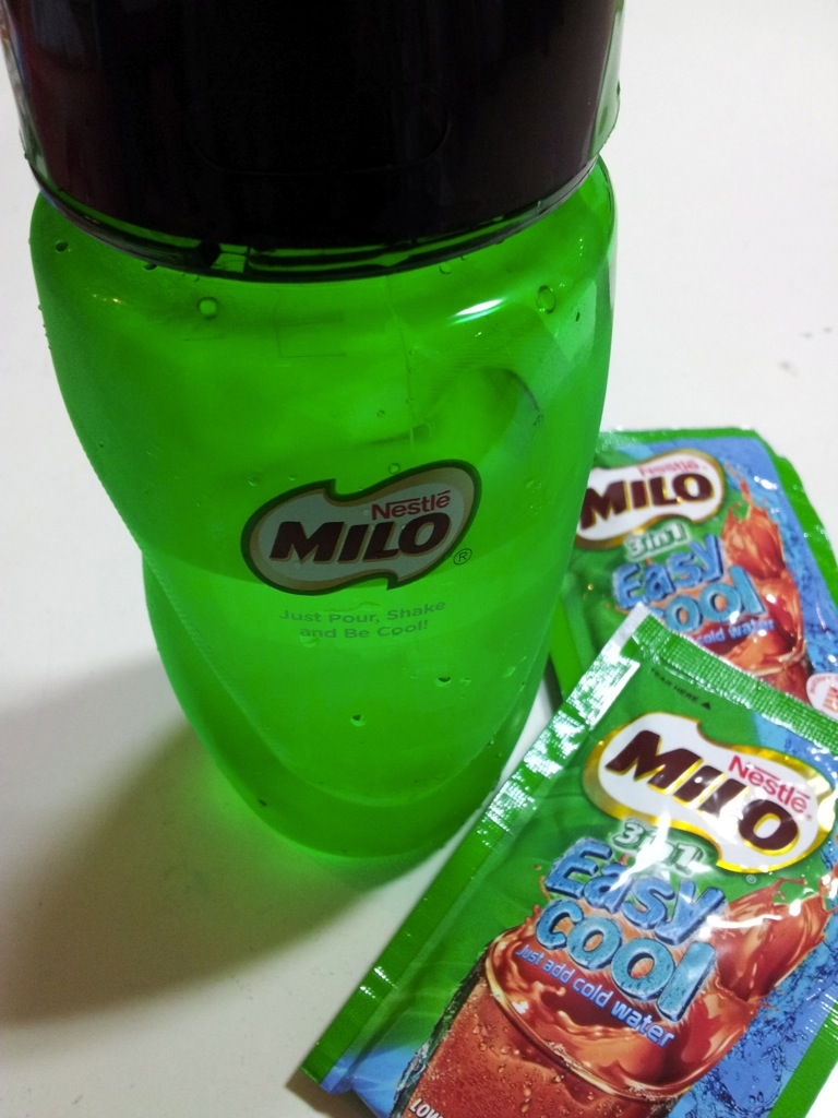 Get Your Instant Ice Cold Milo Now Zit Sengs Blog Sachet Just Fill Up The Bottle With Water To Line Indicated On Side Add Two Sachets Of