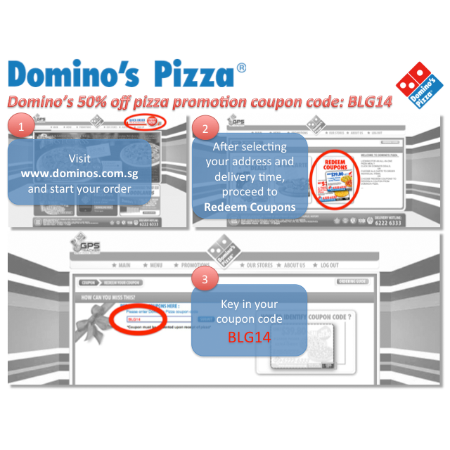 Dominos Coupons, Promo Codes & Discounts | December Enjoy Dominos pizza, subs, wings, & more from the comfort of your home for less with a Domino's coupon code. Get your Dominos 5/5(10).