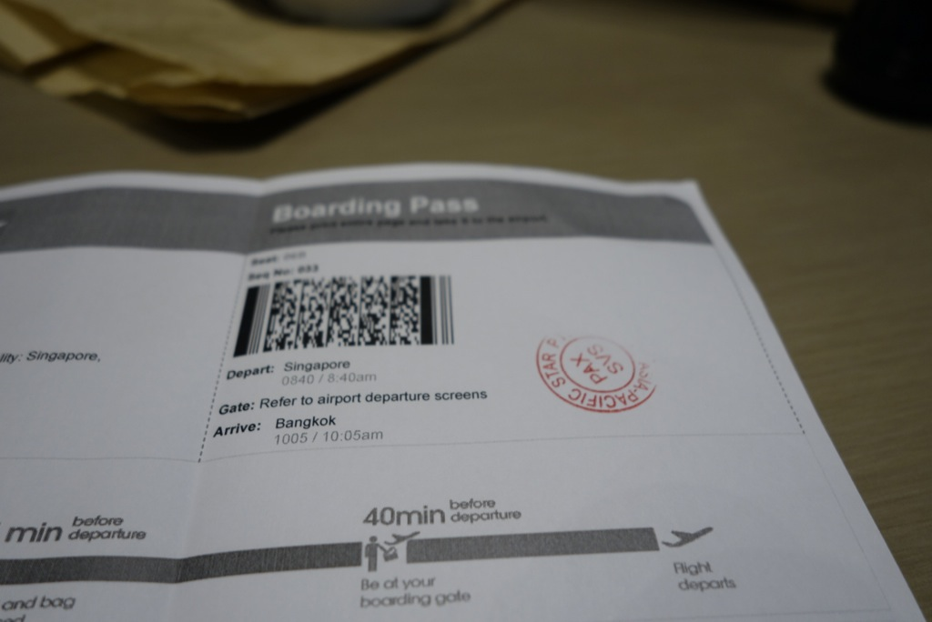 Self-Printed Boarding Passes