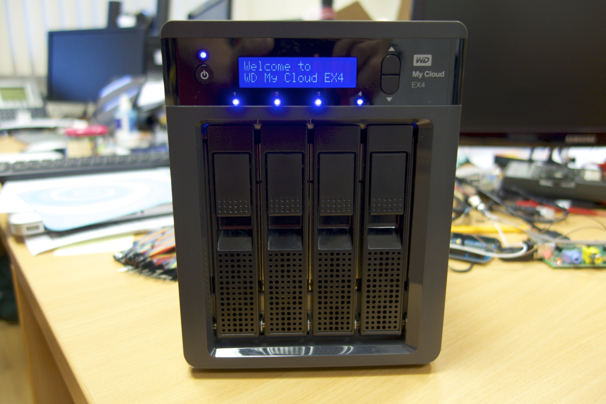 WD My Cloud EX4 Review