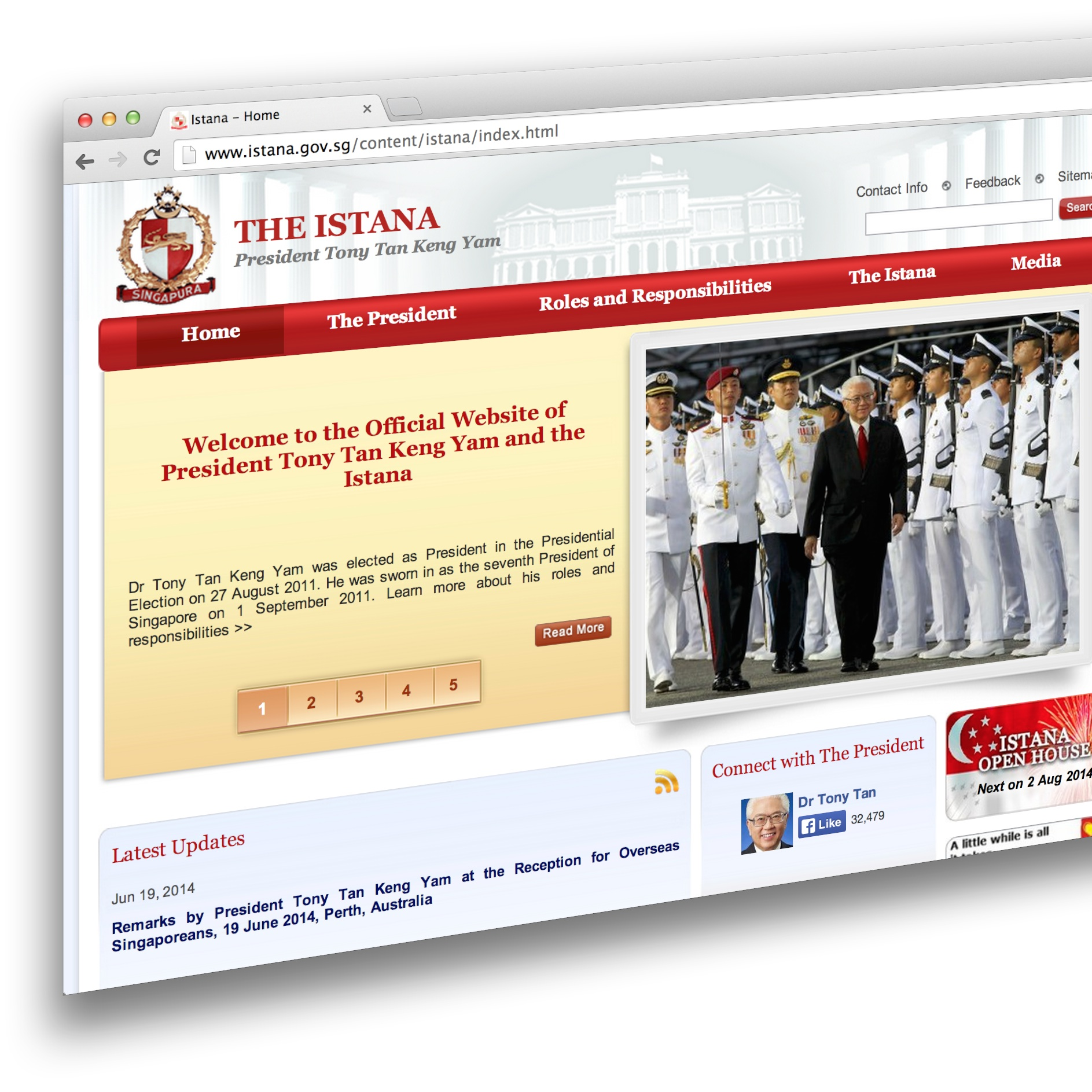 Convicted for XSS Trickery on Istana Website