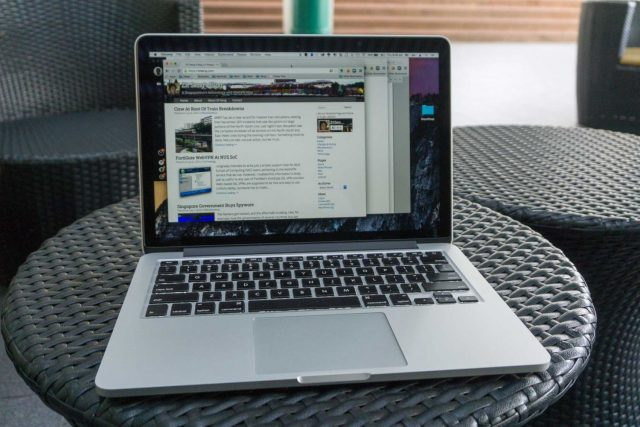 Retina MacBook Pro at YIH