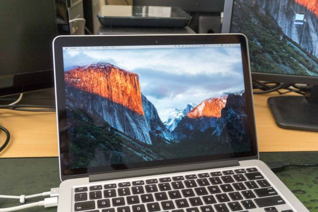 Retina MacBook Pro with El Capitan