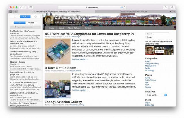 Getting To Know Mac OS X El Capitan – Zit Seng's Blog