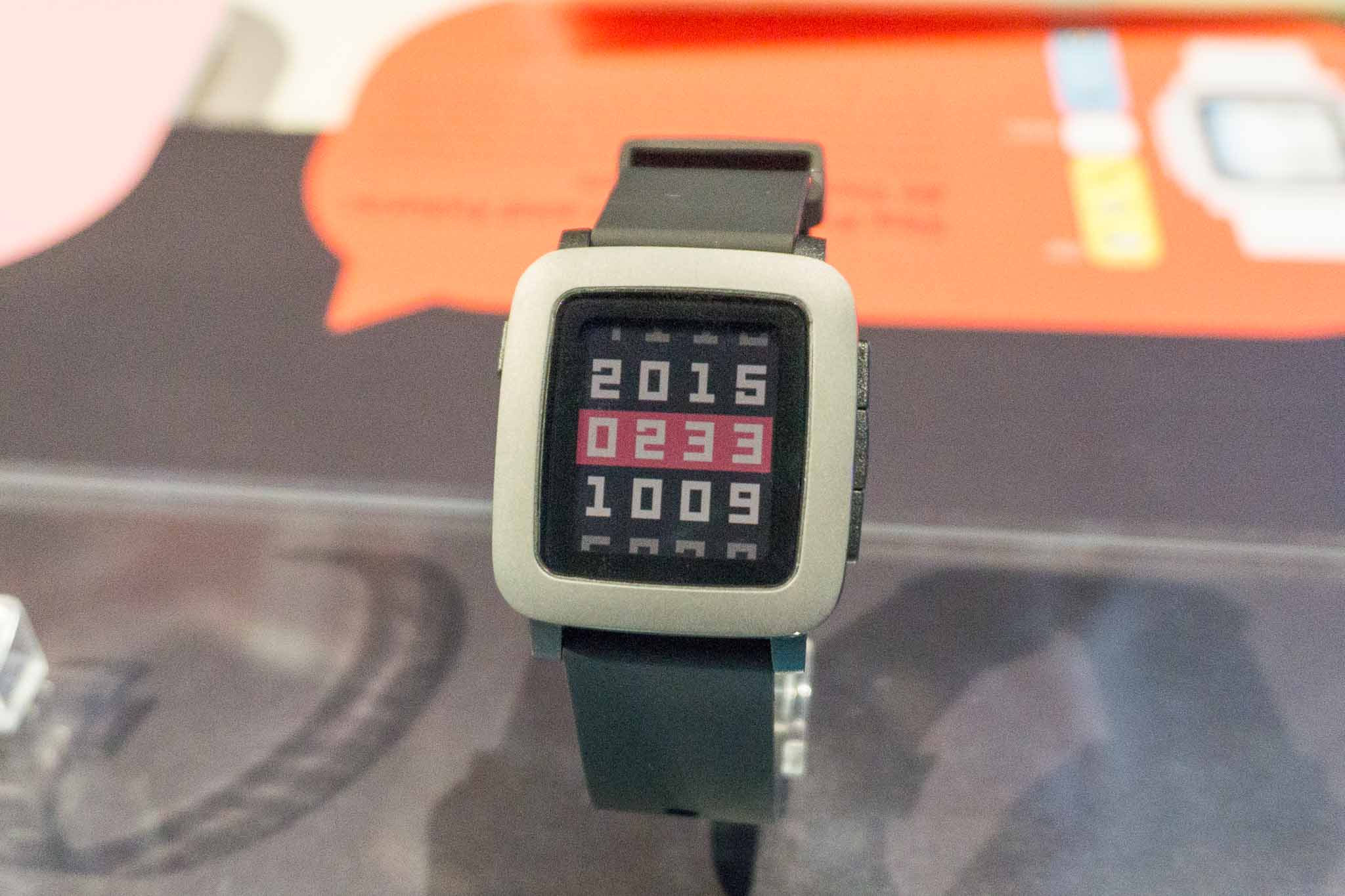 Pebble Time Launch SG