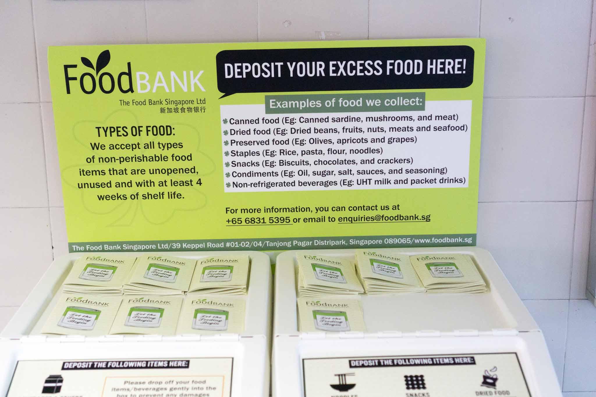 Food Bank | Zit Seng's Blog