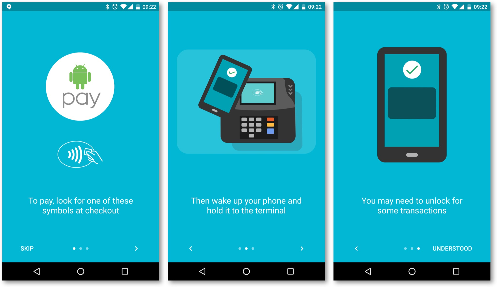 Android Pay Arrives In Singapore – Zit Seng's Blog